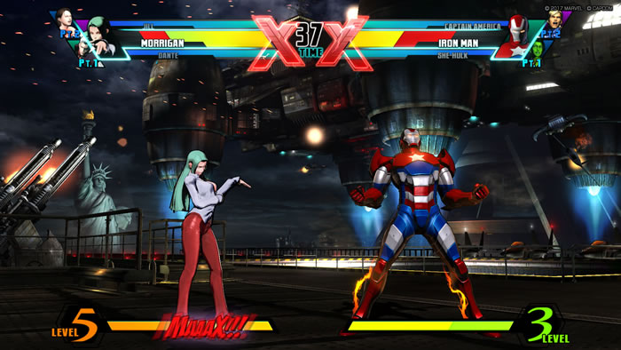「Ultimate Marvel vs Capcom 3」
