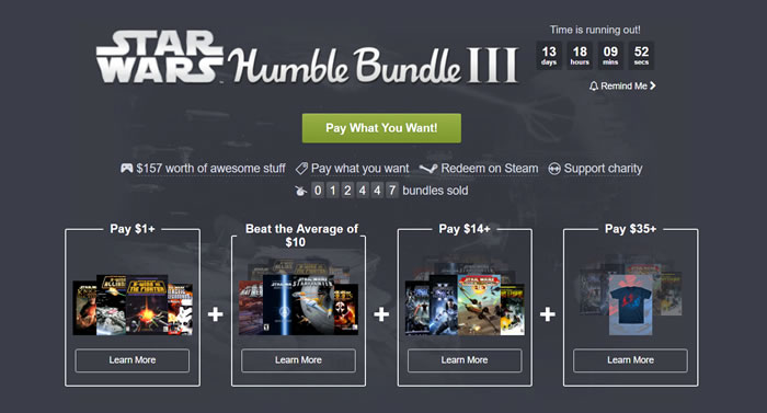 「Star Wars Humble Bundle III」