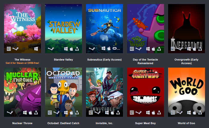 「 Humble Bundle」