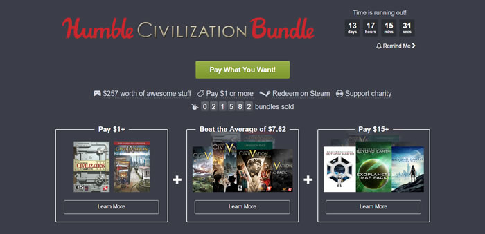 「Humble Civilization Bundle」