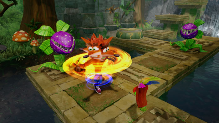 「Crash Bandicoot N'Sane Trilogy 」