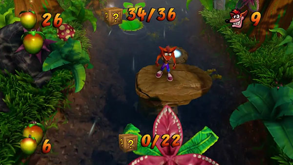 「Crash Bandicoot N'Sane Trilogy」