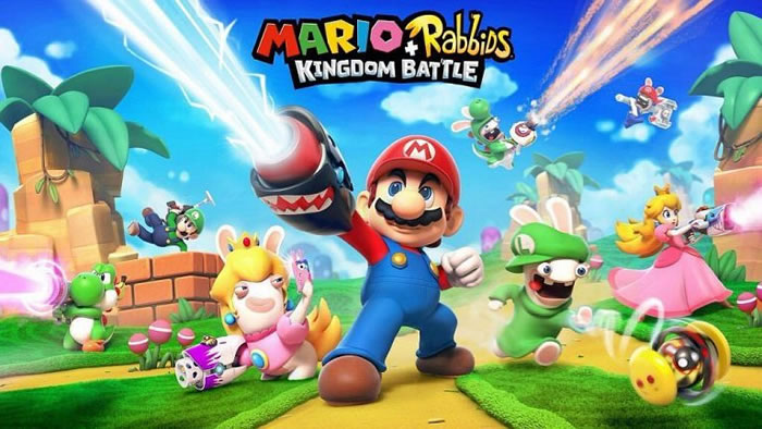 「 Mario + Rabbids Kingdom Battle」