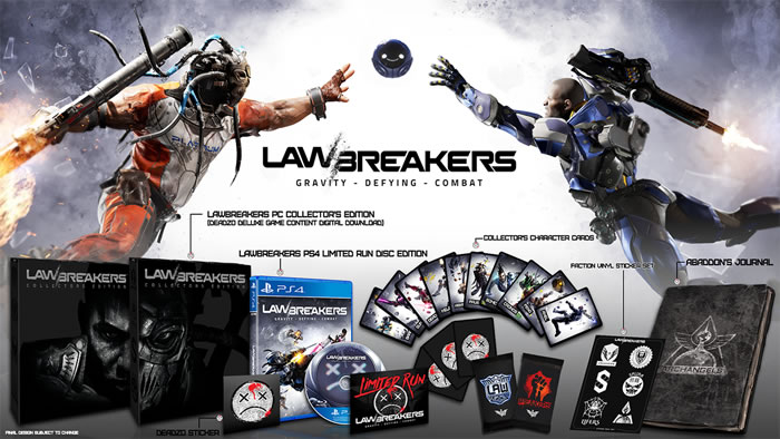 「LawBreakers」