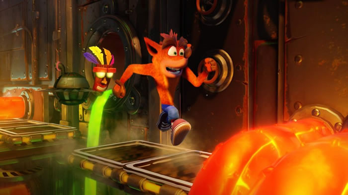 「Crash Bandicoot N.Sane Trilogy」