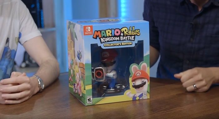 「Mario + Rabbids Kingdom Battle 」
