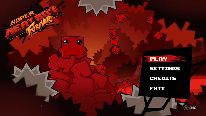 「Super Meat Boy Forever」