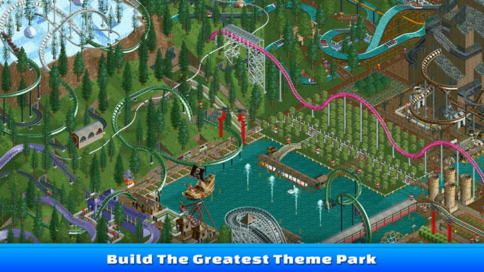「RollerCoaster Tycoon」