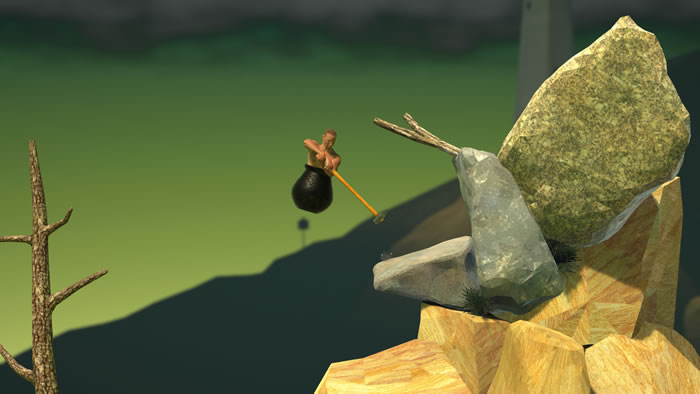 「Getting Over It with Bennett Foddy」