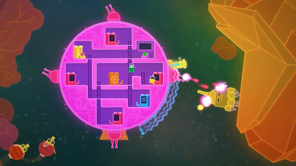 「Lovers in a Dangerous Spacetime」