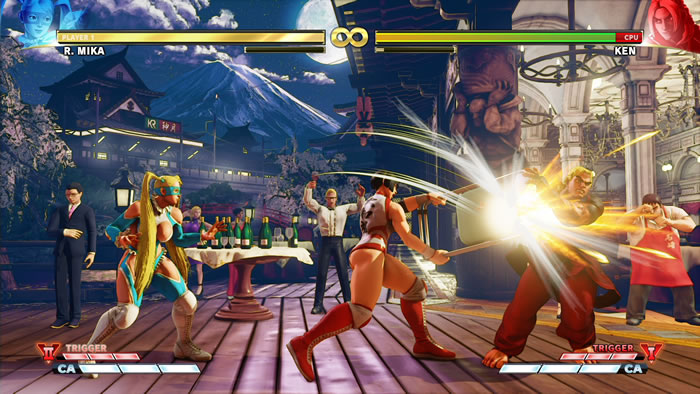 「Street Fighter V: Arcade Edition」