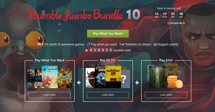 「Humble Jumbo Bundle 10」