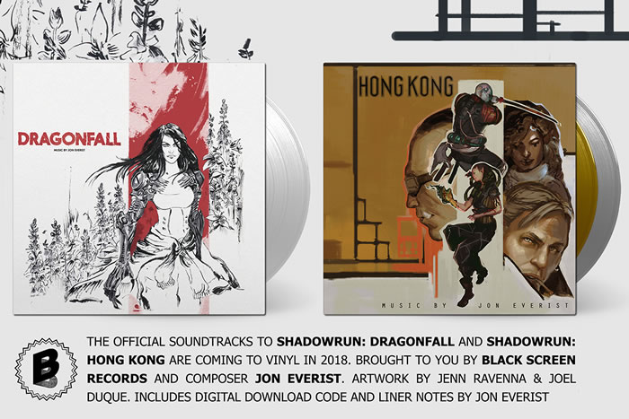 「Shadowrun: Dragonfall」「Shadowrun: Hong Kong」