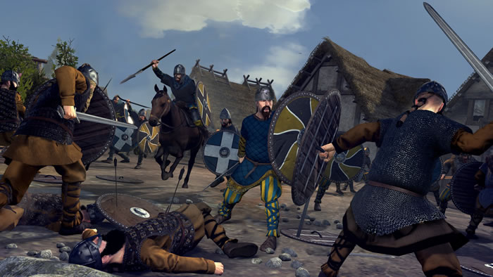 「Total War: Thrones of Britannia」