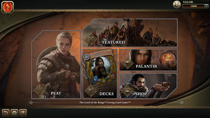 「The Lord of the Rings: Living Card Game」