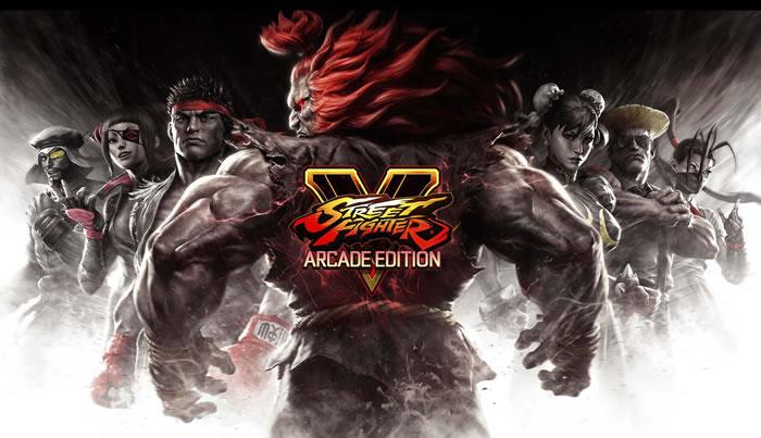 「Street Fighter V」