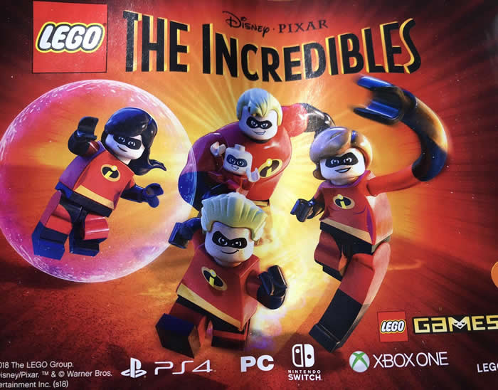 「LEGO The Incredibles Game」