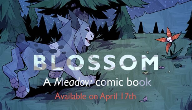「Blossom: A Meadow comic book」