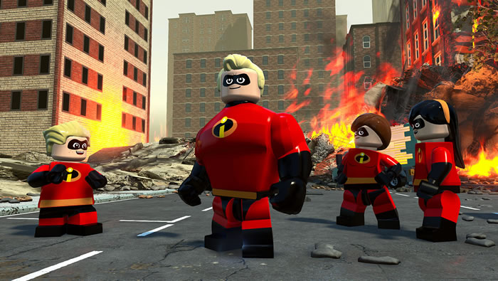 「LEGO: The Incredibles」
