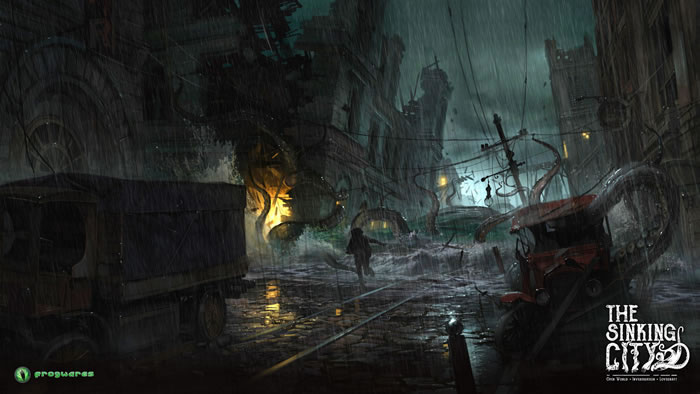 「The Sinking City」