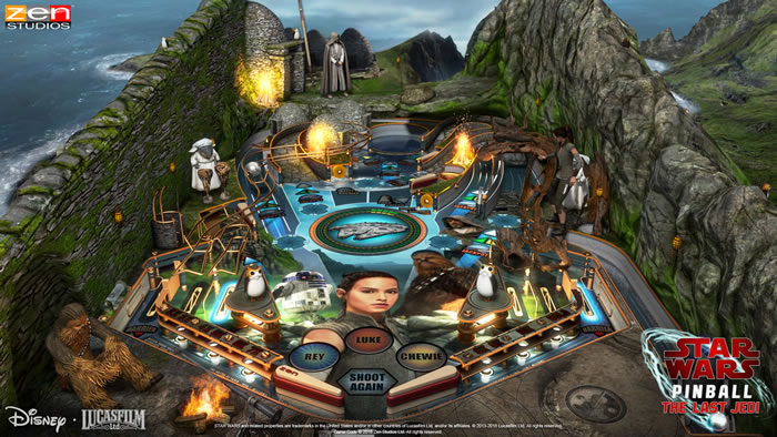 「Star Wars: The Last Jedi Pinball」