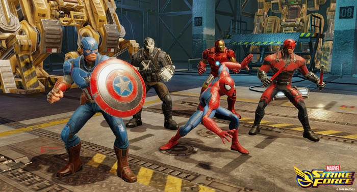 「MARVEL Strike Force」