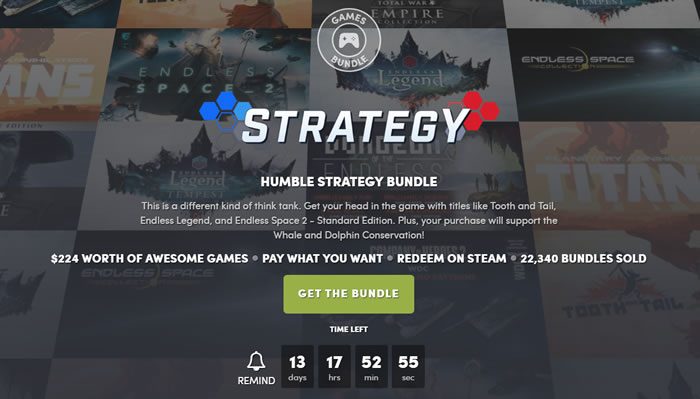 「Humble Strategy Bundle」
