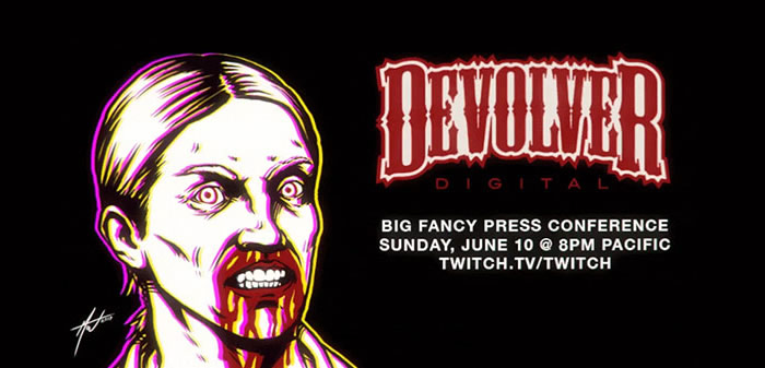 「Devolver Digital E3 Press Conference」