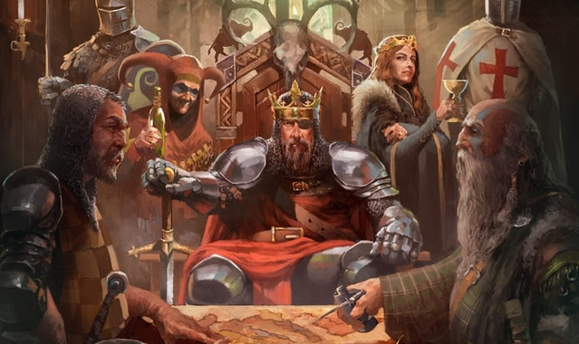「Crusader Kings The Board Game」