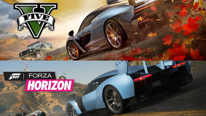 「Forza Horizon 4」「Grand Theft Auto V」