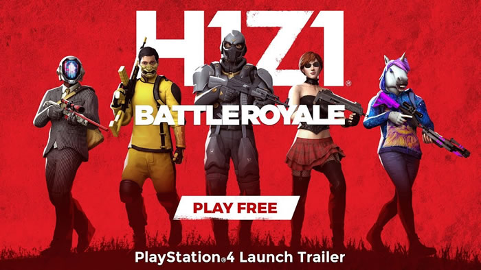 「H1Z1: Battle Royale」