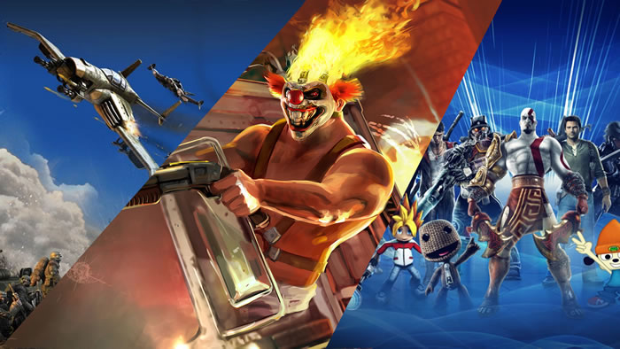 「Warhawk」「Twisted Metal」「PlayStation All-Stars Battle Royale」