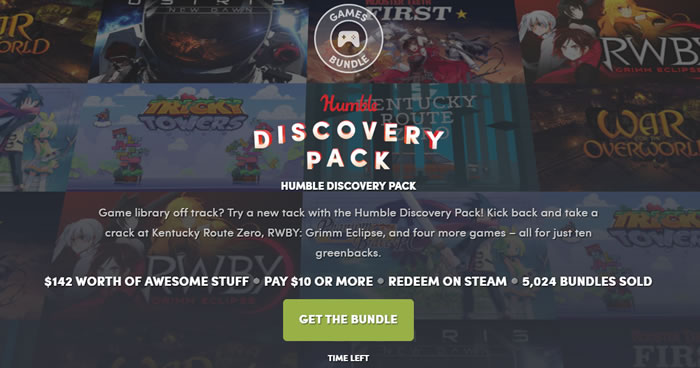 「Humble Discovery Pack」