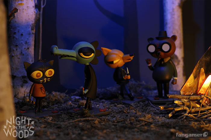 「Night In The Woods」