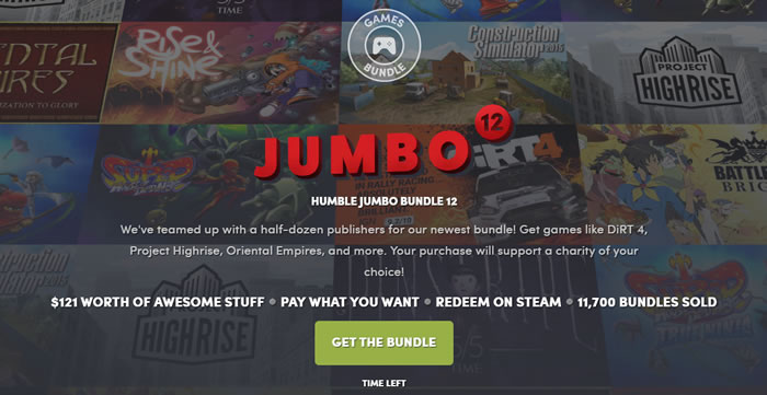 「Humble Jumbo Bundle 12」