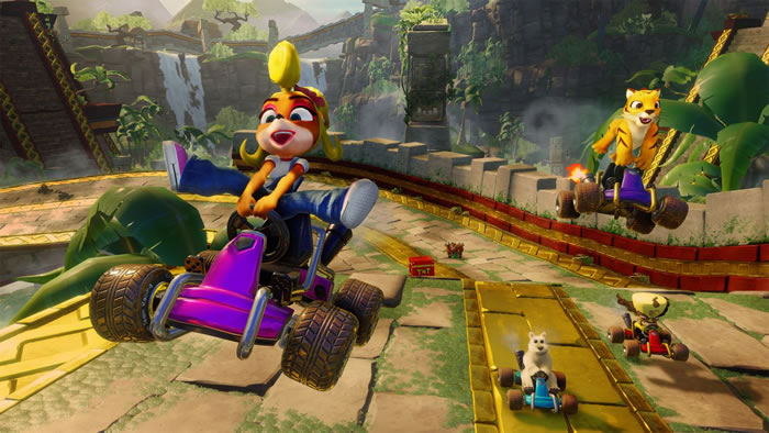 「Crash Team Racing Nitro-Fueled」