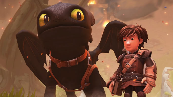 「DreamWorks Dragons Dawn of New Riders」