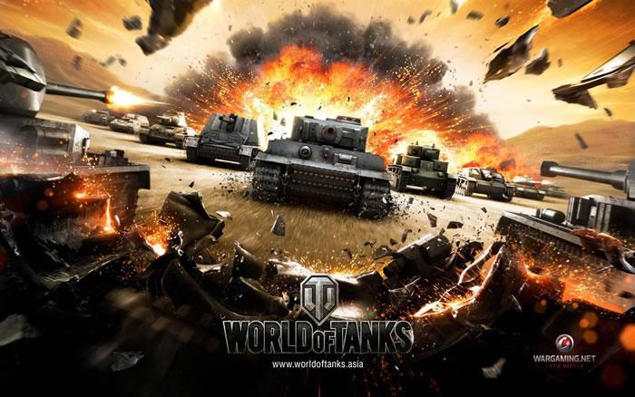 「World of Tanks」