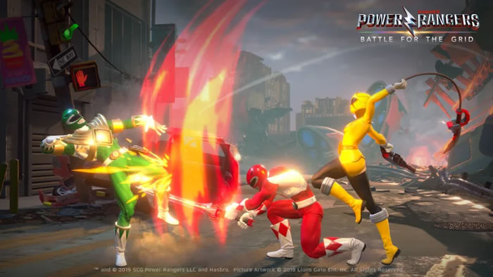 「Power Rangers: Battle for the Grid」