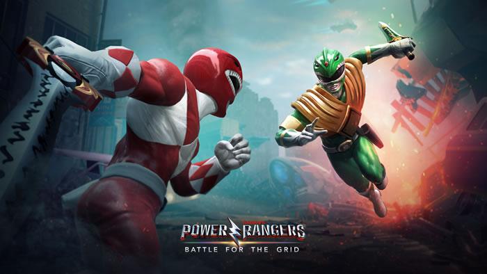「Power Rangers: Battle for the Grid」