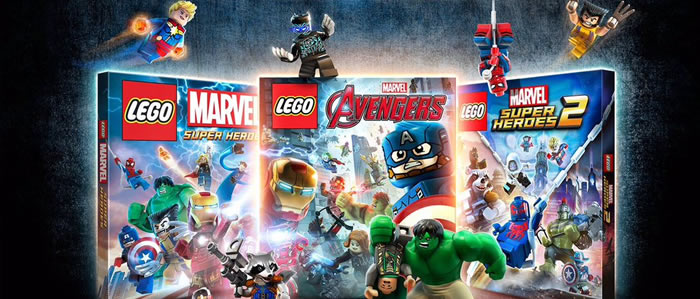 「LEGO Marvel Collection」