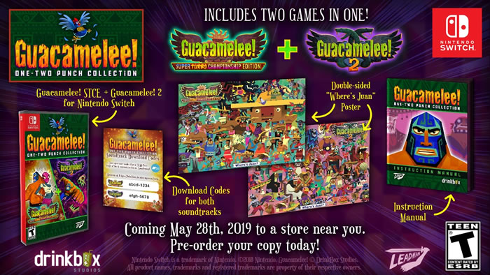「Guacamelee! One-Two Punch Collection」
