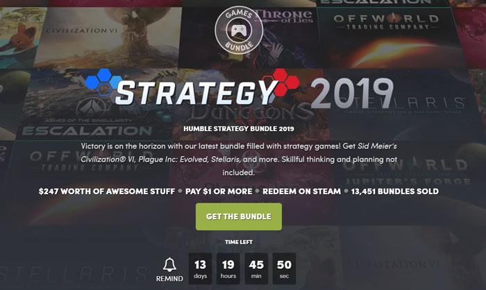 「Humble Strategy Bundle」