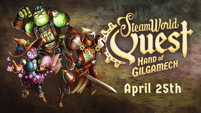 「SteamWorld Quest: Hand of Gilgamech」