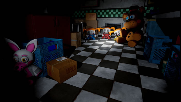 「Five Nights at Freddy's VR: Help Wanted」