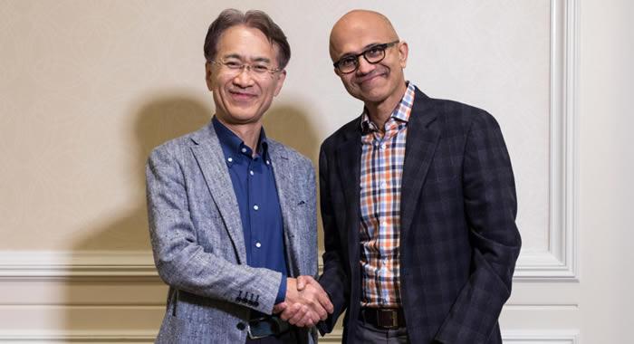 「Microsoft」「Sony」