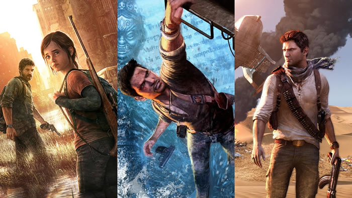 「Uncharted」「The Last of Us」