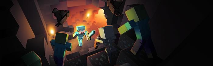 「Minecraft」