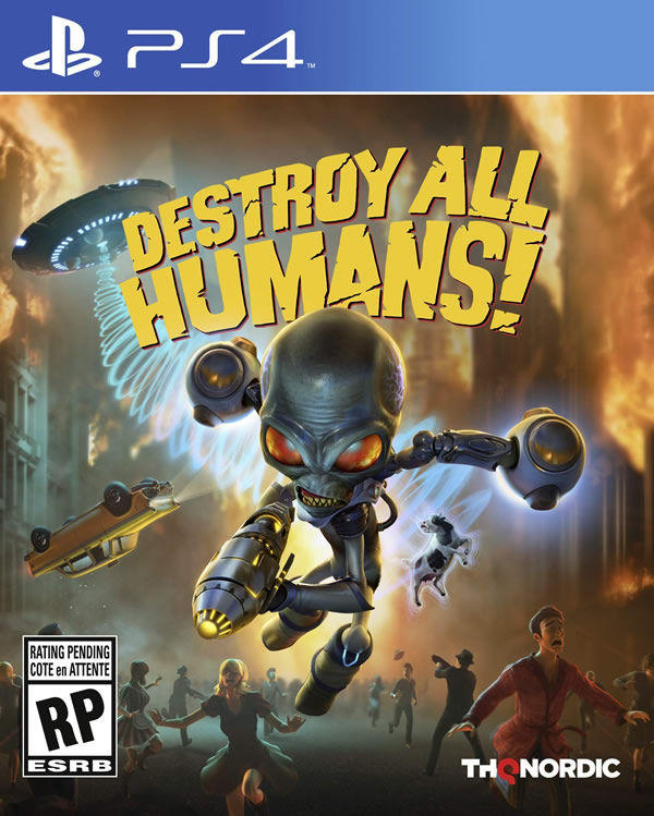 「Destroy All Humans」