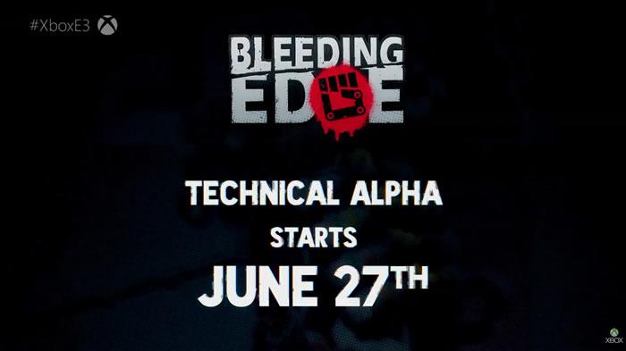 「Bleeding Edge」